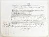 """[ 2 Quittances accordées par le Trésorier du Corps de la Noblesse à Madame la Marquise de Brégançon en 1775 et 1778 ] """"Quittance du troisième et ..."""