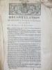 """Récapitulation du Procez du Vicomte de Goesbriand contre le Marquis de Ksauson [ Kersauson ] """"Il y a cinquante sept ans que les Sieurs de Goesbriand ..."""