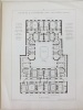 Monographies de Bâtiments Modernes. Maison rue du Luxembourg Paris. Mr. H.P. Nénot Architecte [ n°28 et 30 rue Guynemer ancienne rue du Luxembourg, ...