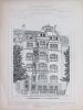 Monographies de Bâtiments Modernes. Maison à Cologne 23 Riehler Strasse Mr. Fritz Dahmen Architecte [ Köln ]. DUCHER FILS ; RAGUENET, A. ; (DAHMEN, ...