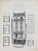 Monographies de Bâtiments Modernes. Maison Boulevard de Clichy n° 98 à Paris. Mr. J. Voisin Architecte (75018). DUCHER FILS ; RAGUENET, A. ; (VOISIN, ...