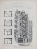 Monographies de Bâtiments Modernes. Maison Avenue Trudaine n° 21 à Paris. Mr. Charles Gautier Architecte (75009). DUCHER FILS ; RAGUENET, A. ; ( ...