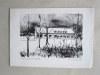 """4 lithographies en tirage limitée ou épreuve d'artiste signée par l'artiste, utilisées comme """"carte de Voeux"""" avec 3 pages manuscrites par l'artiste. ..."""