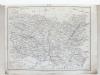 Atlas de la Défense Nationale. Carte des dix-sept départements envahis ou menacés par l'Ennemi. Carte de l'Est de la France - Seine - Seine-et-Oise - ...