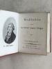 Etui-Bibliothek der Deutschen Classiker. N° 7 : Gedichte von Gottfried August Bürger. BURGER, Gottfried August