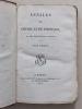 Annales de Chimie et de Physique. Année 1817 - Volume III - Tome Sixième [ Tome 6 - Tome VI ]  : Questions sur la Théorie-Physique de la Chaleur ...