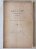 Alceste. Drame Euripide mis en vers français par Léon Paris.. PARIS, Léon ; ( EURIPIDE )