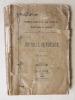 Tunis, Malte, La Sicile, Naples & Rome. Un Journal de Voyage.. M. de H. [ M. de Hosstrup ]