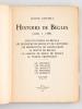 Bègles sous la Féodalité. De Philippe-Auguste à Louis XVI. (1080 à 1788). Sanctus Petrus de Bécula. Les Seigneurs de Becgle et de Centujène. Les ...