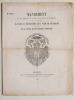 Mandement de son eminence le Cardinal-Archevêque de Bordeaux faisant un nouvel appel en faveur du Rétablissement de la Flèche de Pey-Berland et de ...