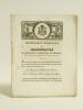 Instruction Pastorale et Ordonnance de Monseigneur l'Archevêque de Bordeaux, touchant les Bénédictions, Expositions et Processions du ...