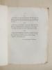 Projet de Formation d'une Caisse de Retraites Ecclésiastiques.. LE FEBVRE DE CHEVERUS, Jean-Louis-Anne-Magdeleine [ Cardinal de Cheverus (1768-1836) ]