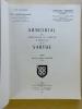 Armorial des chefs-lieux de canton du Département de la Sarthe [ Armorial des communes de la Sarthe ]. CORDONNIER, Paul ; LOUIS, Robert