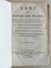 L'Art de lever les Plans, appliqué à tout ce qui a rapport à la Guerre, à la Navigation & à l'Architecture civile & rurale.. DUPAIN DE MONTESSON ; ...