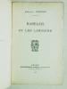 Rabelais et les Limosins.. PRECICOU, Alphonse
