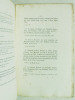 Théophile Gautier. Sa Bibliographie. Ornée d'une eau-forte de M. H. Valentin d'après le portrait de Théophile Gautier peint par lui-même en tenue des ...