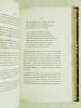 Bibliographie Romantique. Catalogue anecdotique et pittoresque des éditions originales des oeuvres de Victor Hugo - Alfred de Vigny - Prosper Mérimée ...
