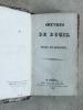 Oeuvres de J. F. Ducis (8 Tomes - Complet). DUCIS, Jean-François