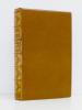 Histoire de Manon Lescaut. PREVOST, Abbé ; FRANCE, Anatole (préface) ; FRANCK, Anatole (notice)