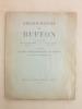 Bibliographie de Buffon [ Dédicacée par l'auteur ]. GENET-VARCIN, Mme E. ; ROGER, Jacques