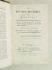 Le Dix-Huit Brumaire, ou Tableau des événemens qui ont amené cette journée; des moyens secrets par lesquels elle a été préparée  ; des faits qui l'ont ...