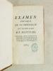 Examen critique de la théologie du séminaire de Poitiers. [ Edition originale ]. Anonyme  ; [ MAILLE, Joseph Auguste ]