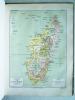 Guide de l'Immigrant à Madagascar. Atlas (24 planches) comprenant 41 Cartes, Cartons, Profils et Plans. [ On joint : ] Une grande carte manuscrite sur ...