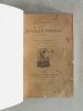 Rêves et Pensées. Poésies. [ Edition originale dédicacée par l'auteur ]. POMAIROLS, Charles de