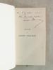 Oeuvres de André Theuriet. Nouvelles. Bigarreau - Souffrances de Claude Blouet - L'Abbé Daniel - La Saint-Nicolas [ Livre dédicacé par l'auteur ]. ...