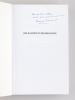 Des Racines et des Branches. Histoire et généalogie d'une famille limousine. [ Livre dédicacé par l'auteur ]. BOUCHINET-BRUGERES, Françoise
