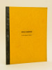 Séminaires sur les espaces vectoriels topologiques. Année 1962-1963. COLMEZ, Professeur