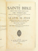 La Sainte Bible. Texte de la Vulgate, traduction française en regard avec commentaires. Le Livre de Josué. [ Avec : ] Les Juges et Ruth. Introduction ...