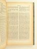 La Sainte Bible. Texte de la Vulgate, traduction française en regard avec commentaires. Les Actes des Apôtres. CRELIER, Abbé H.-J ; BAYLE, Abbé