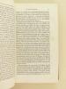 De la Démocratie et des Gouvernements mixtes. Précédé d'une Etude sur Lord Brougham par le Vicomte d'Haussonville. . BROUGHAM, Lord ; D'HAUSSONVILLE, ...
