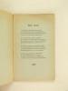 Quelques Poèmes [ Livre dédicacé par l'auteur ]. JARDEL, Marguerite