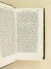 La Vie de M. Le Nobletz, Prêtre et Missionnaire (2 Tomes - Complet). VERJUS, R. P. Antoine