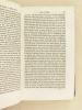 Cours élémentaire de Patrologie à l'usage des Séminaires et des Collèges. Pères Grecs du Grand Siècle littéraire de l'Eglise, depuis la conversion de ...