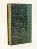 Petit Cérémonial Paroissial selon le rite romain, publié d'après l'ordre du Concile de Périgueux (1856) et du Concile d'Agen (1859). BOURBON, A.