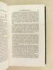 La Colonisation de l'Algérie. Ses Eléments. [ Edition originale ]. BAUDICOUR, Louis de