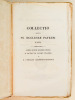 Collectio Selecta SS. Ecclesiae Patrum : S. Optati Afri Milevitani Episcopi De Schismate Donatistarum Libri VII - S.P.N. Cyrilli Hierosolymitani ...