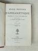 Revue Pratique d'Apologétique. Tomes 1 à 16 (de la Première à la Huitième Année - 1905-1913). BAUDRILLART ; GUIBERT ; LESETRE ; Collectif