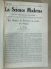 La Science Moderne. Revue Mensuelle Illustrée (8 Tomes - Complet : Années 1924 - 1925 - 1926 - 1927 - 1928 - 1929 -1930 - 1931). Collectif ; DALBIS, ...