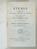 Etudes religieuses, philosophiques, historiques et littéraires, XXVIIIe année - Tome LVI [ 56 ], Partie Bibliographique 1891, 2e année (Ancienne ...