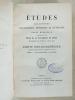 Etudes religieuses, philosophiques, historiques et littéraires, Supplément aux Tomes LV, LVI et LVII [ 55, 56 et 57 ] -  Partie Bibliographique 1892, ...