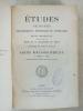 Etudes religieuses, philosophiques, historiques et littéraires, Supplément aux Tomes 67, 68, 69 - Partie Bibliographique 1896, 7e année (Ancienne ...