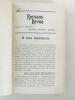 Romans-Revue. Guide de Lectures, Mensuel, littéraire, pratique. Année 1908 [ Future Revue des Lectures ]. BETHLEEM, Abbé Louis (dir.) ; Collectif