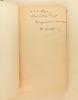 La Liberté et la Conservation de l'Energie. [ Edition originale, dédicacée par l'auteur ]. COUAILHAC, Marius