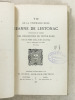 Vie de la vénérable Mère Jeanne de Lestonac, fondatrice de l'Ordre des religieuses de Notre-Dame. Père Guillaume BEAUFILZ [ BEAUFILS, Guillaume ...