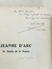 Jeanne d'Arc , la sainte de la France : nouveaux récits populaires ( exemplaire dédicacé). MONTET, Charles-Emile