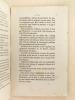 Les Congrégations religieuses non autorisées et leur Situation légale en France.. THERY, Gustave